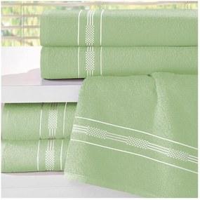 Toalha de Rosto Teka Dry Verde Clara 340g/m²