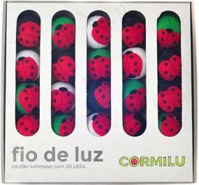 Luminária Decorativa Joanas - 220V Cormilu Vermelho