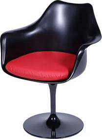 Cadeira Saarinen Tulipa Com Braços