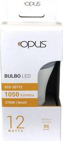 Lâmpada de Led Bulbo ECO E27 12W 2700K - Opus - Bivolt