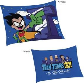 Fronha Avulsa 50x70cm Estampada Teen Titans Go Lepper