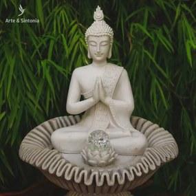 Fonte de Buda Thai em Marmorite