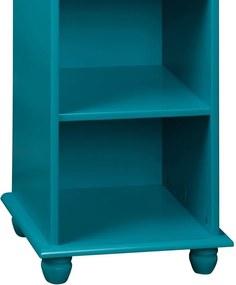Estante Petit C/ 3 Nichos Pequena Azul