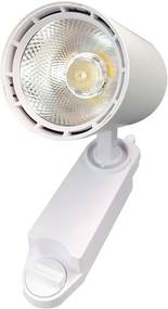Spot para Trilho Eletrificado Branco (Led Incluso) 10W 3000K Bivolt - MBLED - S33095