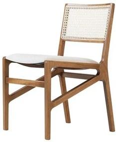 Cadeira Caledon em Madeira Maciça e Palha