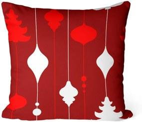 Almofada Love Decor Avulsa Decorativa Elementos Natalinas Vermelhas -