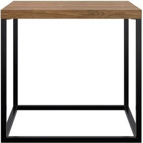 Mesa de Centro Box Pequena Estilo Industrial