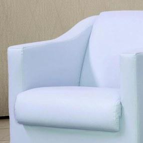 Poltrona Decorativa Lyam Decor Laura Corino Branco