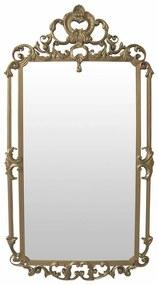 Espelho de chão Versailles - Dourado Soléil Clássico Provençal Kleiner Schein