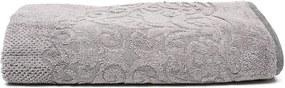 Toalha de Banho Gigante Karsten Elegance Martina 86x150cm Cinza