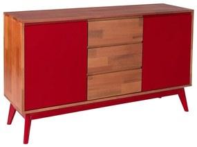 Buffet Diamante Vermelho - Wood Prime MP 221037