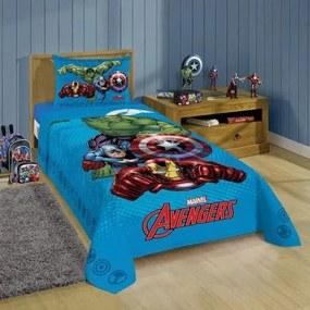Jogo De Cama Infantil Lepper -Estampado Avengers