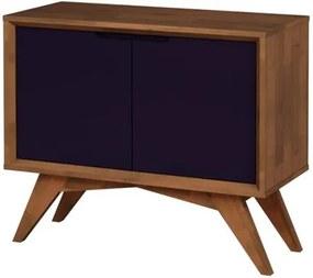 Buffet Uriel 2 Portas Pinhão e Roxo - Wood Prime MP 27572