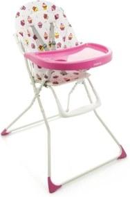 Cadeira de AlimentaçÁo para Bebê Banquet Cupcake Cosco Rosa