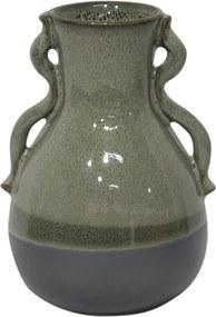 vaso FRANCIS cerâmica verde 18cm Ilunato GS0035