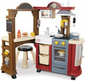 Cozinha e Bistrô Vermelha Little Tikes