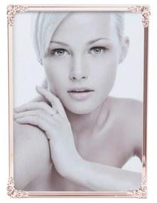 Porta Retrato Aço Fleur Rose 10x15cm 25979 Royal