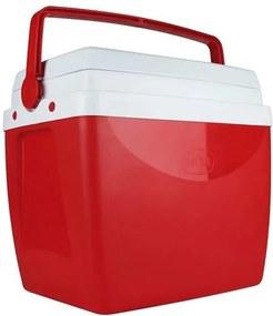 Caixa Térmica 26 Litros Vermelha