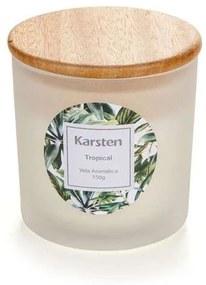 Vela Perfumada Karsten Tropical 150g Multicores