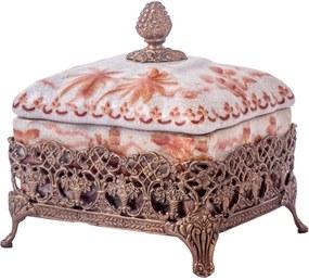 Caixa de Porcelana e Bronze - Imperial