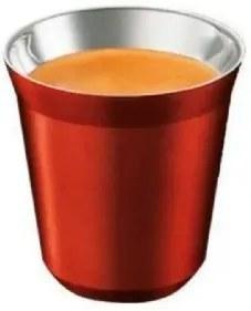 Xícaras para Café Expresso de Metal Vermelho