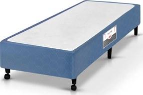 Box Solteiro 88X188X27 Poli Azul Castor