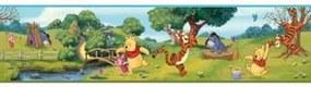 Faixa Decorativa Disney Ursinho Pooh E Amigos Ds7765bd 0,17X4,57