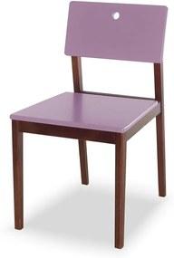 Cadeiras para Cozinha Flip 81 cm 921 Cacau/Lilás - Maxima