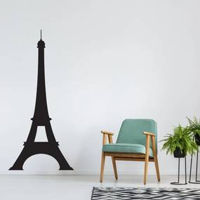 Adesivo de Parede Torre Eiffel 115x54cm - para Porta também
