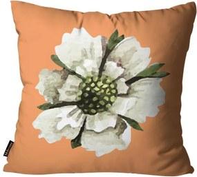 Almofadas Mdecore Flores Amarela45x45cm