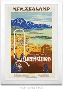 Poster Queenstown (30x45cm, com Painel)