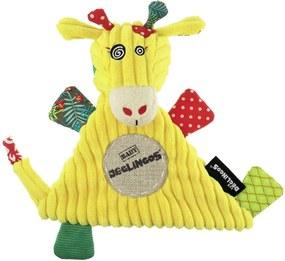 Naninha Girafa Deglingos Amarelo