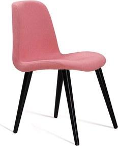 Cadeira Eames com Base Palito Coral DAF Rosa