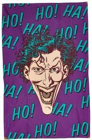 Pano de Copa DC Comics Joker Ha Ha Ha Roxo em Algodão - Urban