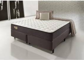 Cama Box Queen Size Sense Firm 159x198x64- Marrom