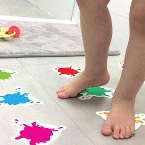 Adesivo Piso Banheiro Antiderrapante Infantil Splash