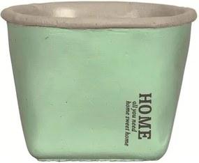 Cachepot de Cimento Verde Home Médio 7614 Mart