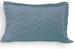 Porta Travesseiro Azul em Malha 1 Peça