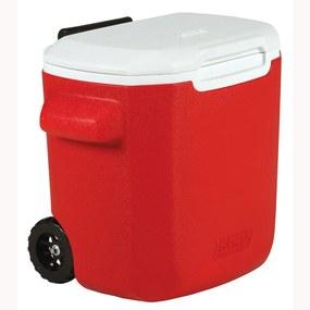 Caixa Térmica com Rodas 16 QT Vermelho 15,1 Litros - Coleman