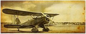 Tela Impressa Avião Paisagem