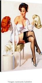 Poster Pin-Up Girl: Gents Prefer (60x80cm, Apenas Impressão)