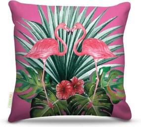 Almofada Nerderia Flamingo Pink 45X45Cm