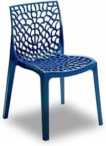 Cadeira Gruvyer Polipropileno S/ Braços Azul