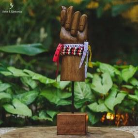Escultura de Figas Amuleto   Arte MG
