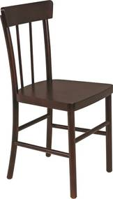 Cadeira Sem Braços Viena Danúbio Tabaco - Cor Marrom