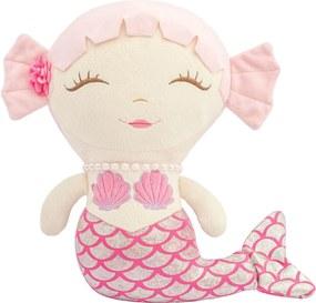 Sereia de Pelúcia Pupi Rosa Coleção Fundo do Mar