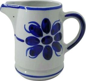 Jarra de Porcelana Azul Floral 500 ml