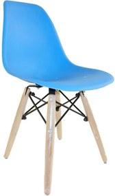 Cadeira Donata Infantil Azul