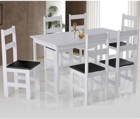 Mesa Arauna primavera com 6 Cadeiras