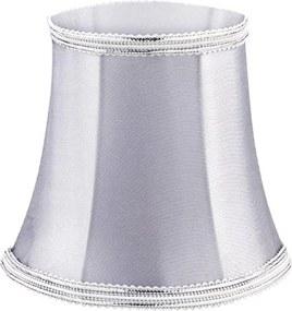 MINI CÚPULA prata p/ lâmpada vela Stella SD9911